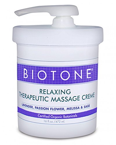 Buy Smart LLC Biotone Relaxing Therapeutic Massage Creme, 16 Ounce