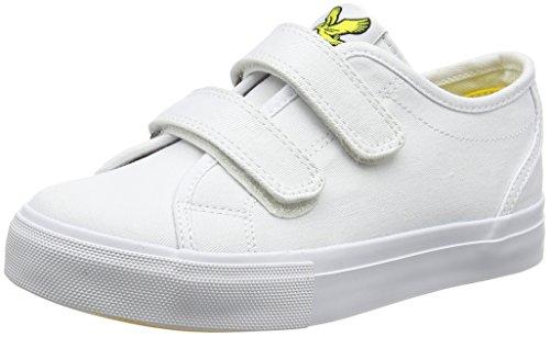 Lyle & Scott Jungen Teviot Junior Vecro Straps Low-Top White (White)
