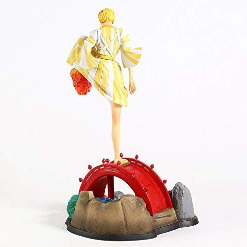 VENDISART Anime Figurine Kimono One Piece Vinsmoke Sanji Ver.Statue PVC Figure Modèle Collection Jouet 30Cm