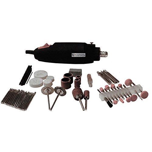 Professional Woodworker (Professional Woodworker 51872.0 Rotary Tool Kit, 80 piece)