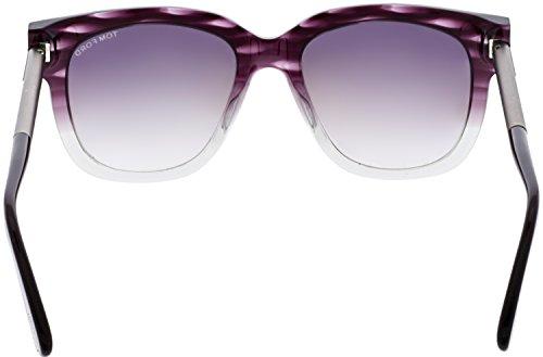 98c8b47c48 Tom Ford Sunglasses TF 436 Tracy 83T Violet Transparent 53mm ...