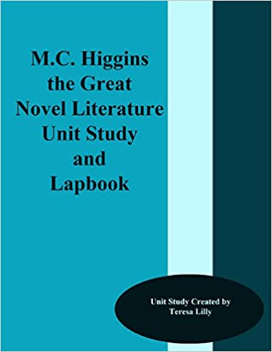 Book M.C, Higgins the Great Novel Literature Unit Study and Lapbook