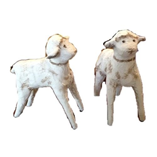 Lori Mitchell Nativity Baby Sheep - Two Sheep by ESC