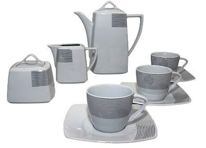 Santa Clara Nova Argos - Juego de café 12 servicios, 27 piezas