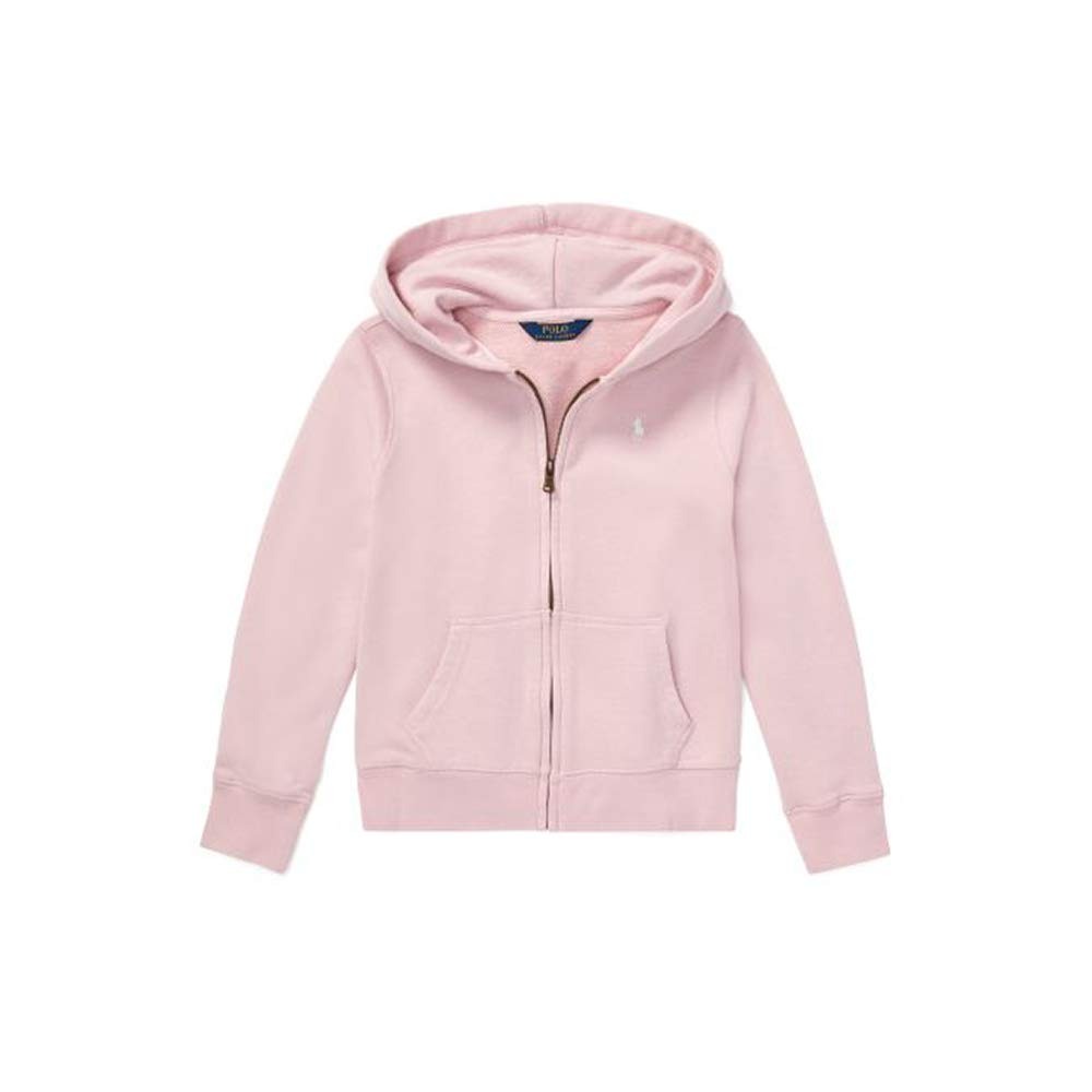 77967a9e Amazon.com: Polo Ralph Lauren Girl's French Terry Hoodie, Light Pink ...