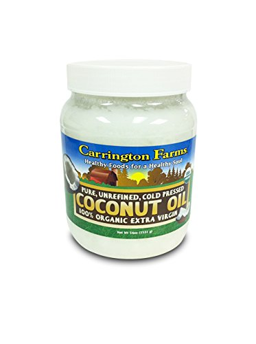Carrington Farms Organic Extra Virgin Coconut Oil, 54 Ounce, Packaging May Vary