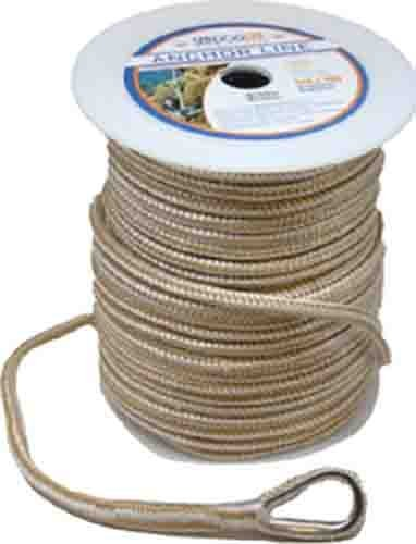 "Sea-Dog 302112060G/W-1 Premium Double Braided Nylon Anchor Line - 1/2"" x 60"