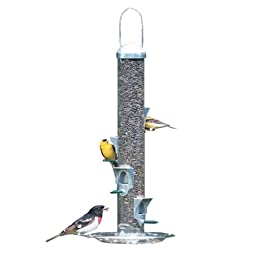 Perky-Pet 112SCAN Deluxe Seed Silo Wild Bird Feeder with Tray