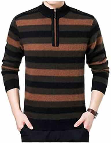 VITryst-Men Plus Size Thicken Windproof Warm Mid Long Down Jacket