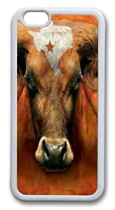 Texas Longhorn Custom Case For HTC One M8 Cover PC White by ruishername