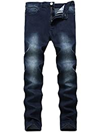 "<span class=""a-offscreen"">[Sponsored]</span>Men's Skinny Slim Fit Stretch Straight Leg Elasticity Jeans Pants"