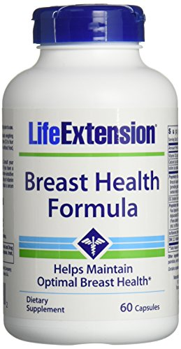 Life Extension Breast Health Formula Vegetarian Capsules, 60 Count Review