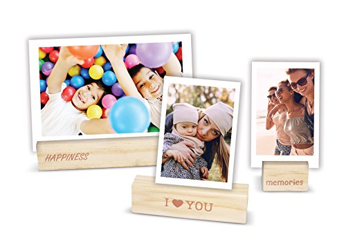 Price comparison product image Fujifilm Instax Wooden Photo Holders - 3PK