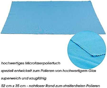 Palatina Werkstatt ® Gabriel-Glas | Standart Edition Set de regalo de 6 unidades, copas de vino de solo 150 gramos de peso, apto para lavavajillas, incluye un gran paño suave para pulir cristales
