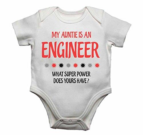 9 è potere neonato super mesi il Body ragazze Body neonato per che La ha mia zietta 12 Bianco ingegnere ragazzi un per cosa vzwREOqx