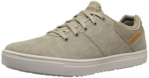 (Skechers USA Men's Alven Revago Oxford,Tan,6.5 M US)