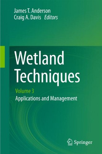 Wetland Techniques: Volume 3: Applications and Management