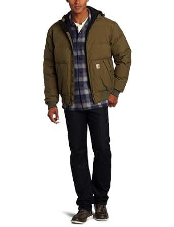 Carhartt Men's Big & Tall Down Kalkaska Active Jacket,Army Green  (Closeout),X-Large Tall