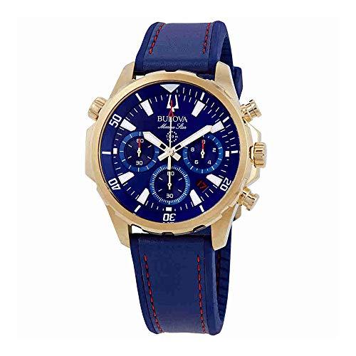 Bulova Men's Marine Star - 97B168 Blue One ()
