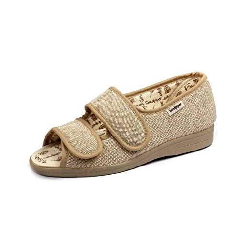 Shoes Lightweight 6e Dora Beige Sandals Fitting 85T7dw