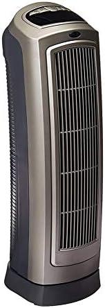 電気ヒーター,リモコン付き振動セラミックタワーヒーター,8.5 L x 7.25 W x 23 H inches.