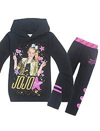 Wazonton JoJo Siwa Hoodies Casual Shirt Tops Clothes and Trousers