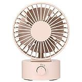 Muji LAD2619S USB Desk Fan, Pink