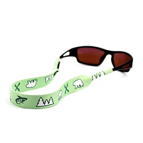 Pilotfish Sunglasses Strap - Floating Neoprene Eyewear Retainer - Sunglass Holder Strap - Custom Design ()