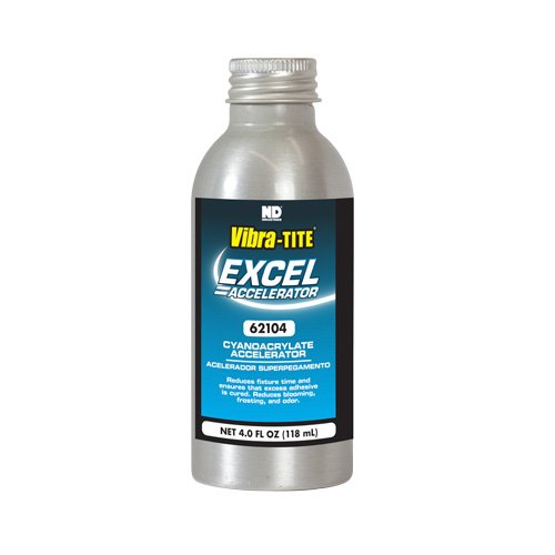 62104 - Excel Excel Accelerator - 4 oz - Clear by Jay-Cee Sales and Rivet Inc.