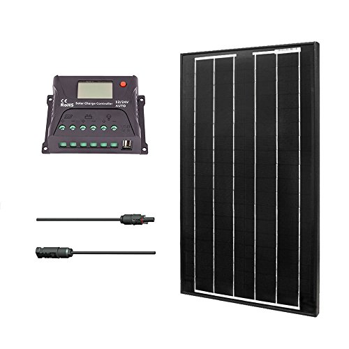 Renogy KIT-BUNDLE30D 30W 12V Monocrystalline Solar Bundle Kit