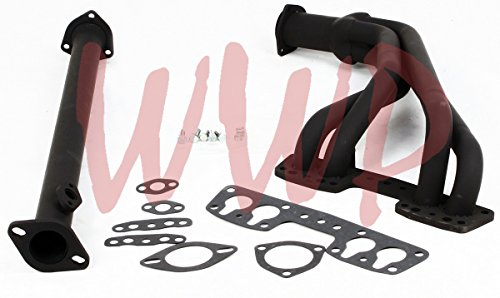 Gasket Pickup Hooker Header (Black Coated Performance Exhaust Header System/Kit For 84-89 Toyota Pickup Truck & 4-Runner)