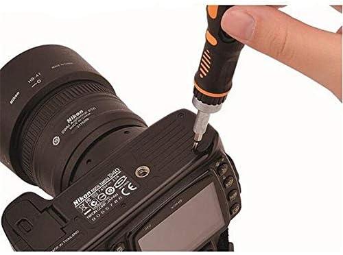 1つのラチェットドライバーハンドツール電話電気メンテナンスプロフェッショナルポータブルハードウェアツールで70 (色 : Multicolors, サイズ : ワンサイズ)