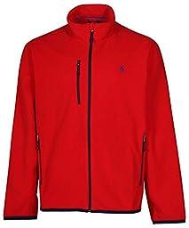 Polo Ralph Lauren Mens Performance Micro Fleece Full Zip Jacket (XL, RL 2000 Red)