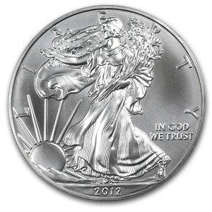 2012 AMERICAN EAGLE WALKING LIBERTY 1 OZ FINE SILVER .999 DOLLAR BULLION COIN