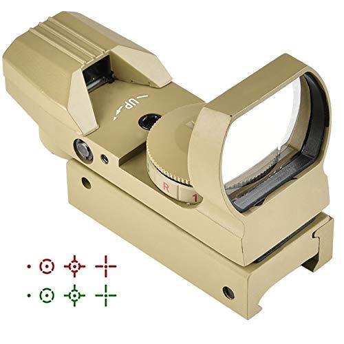 CVLIFE 1X22X33 Red Green Dot Gun Sight Scope Reflex Sight