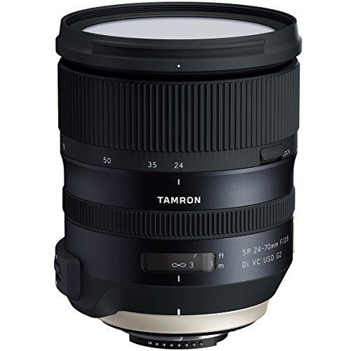 Tamron 24-70mm f/2.8 Di VC G2 USD SP Zoom Lens for Nikon