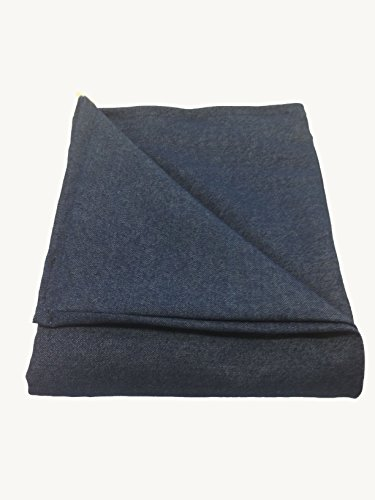 Sensory Goods - THE ONLY APPROVED MANUFACTURER AND SELLER - Large Weighted Blanket - Denim (42'' x 72'') (15 lb for 140 lb individual)