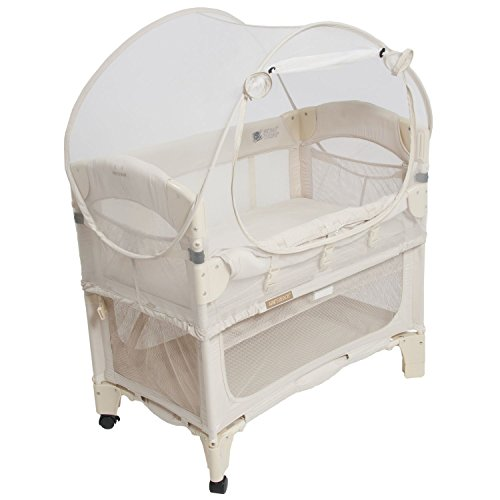 Mini Co-Sleeper Bassinet Canopy - Natural