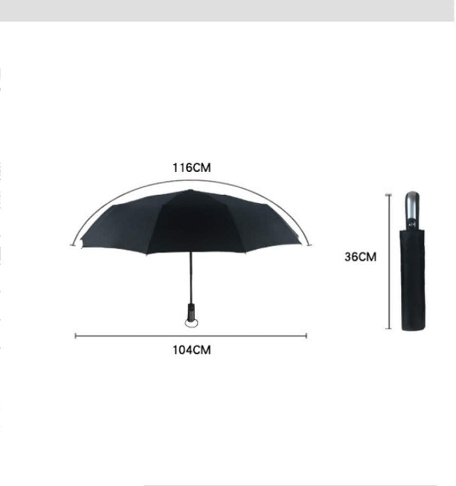TtKj Folding Umbrella 10 Bone Anti-Wind Business Fully Automatic Open Folding rain 36104116cm