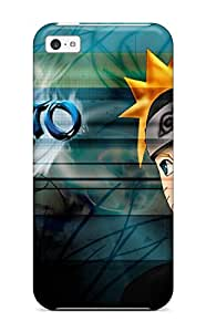 Protective Tpu Case With Fashion Design For Iphone 5c (naruto Shippuden)