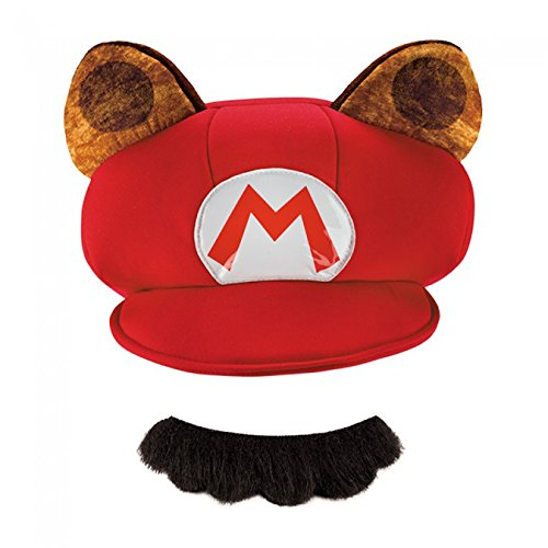 Mario Hats For Sale (Super Mario Bros Nintendo Mario Raccoon Costume Kit Adult)