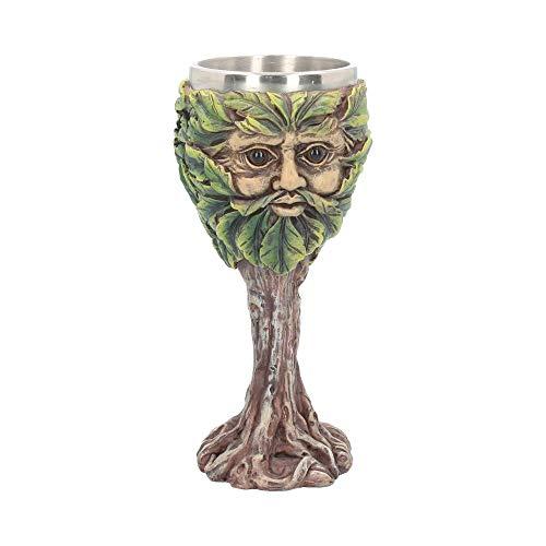 Green Man Eyes of the Forest Goblet 19cm (Greenman Goblet)