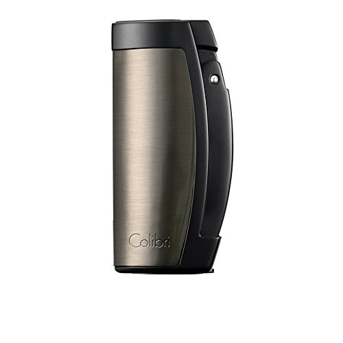 Colibri Enterprise 3 Triple-Jet Lighter - Gunmetal & Black