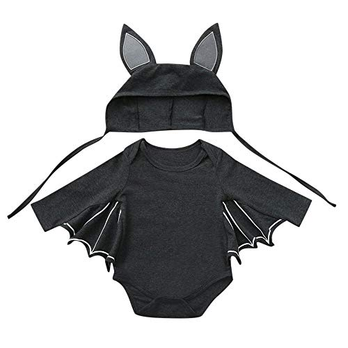 College Superhero Party Costumes - Emimarol Baby Girl Boy Clothes Black