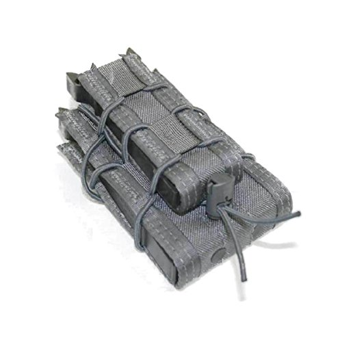 HSGI Double Decker Taco Mag Pouch - Wolf Gray, One Pack ()