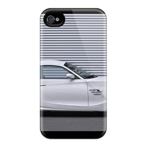 Premium White Ac Schnitzer Bmw M Coupe Side Back Cover Snap On Case For Iphone 4/4s