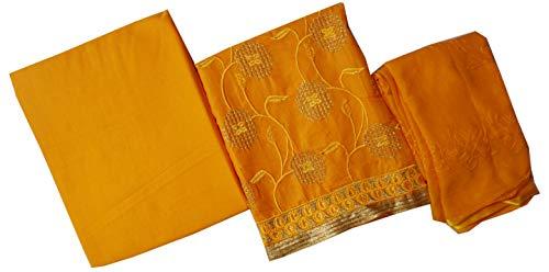 Ishagr Embriodered Cotton Suit Salwar Dupatta Material …