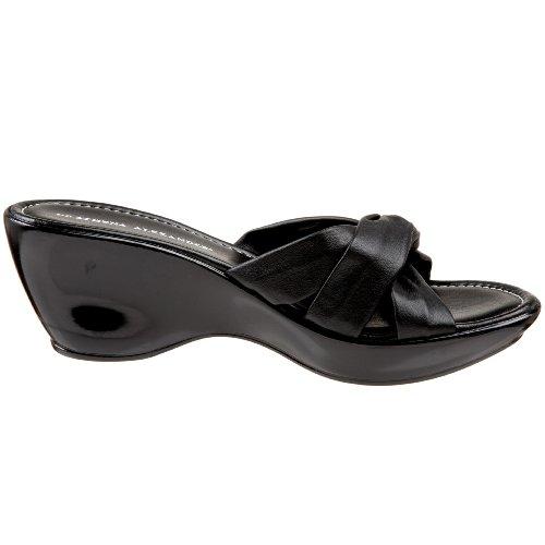 Athena Alexander Womens Gayle Wedge Sandal Black