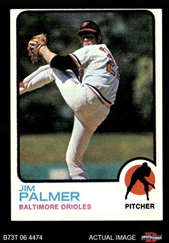1973 Topps # 160 Jim Palmer Baltimore Orioles (Baseball Card) Dean