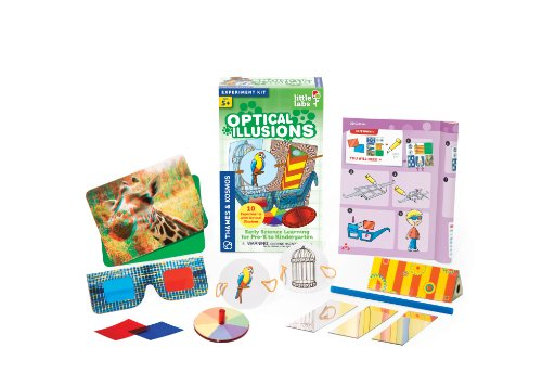 Thames and Kosmos Little Labs Optical Illusions Science Kit